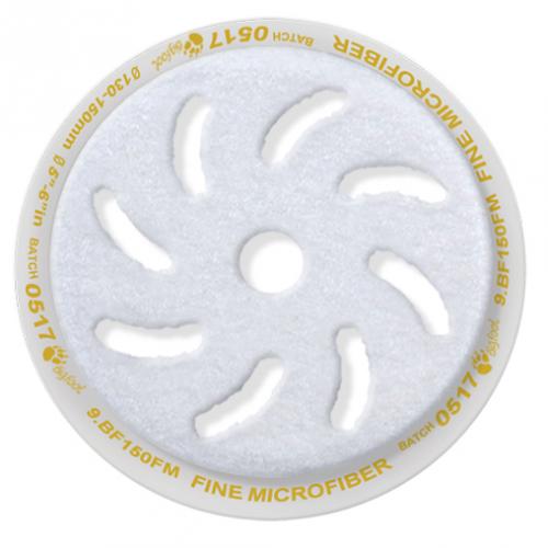 Rupes Ø 100x80 mm. Gul Microfiberpad Medium Cut.