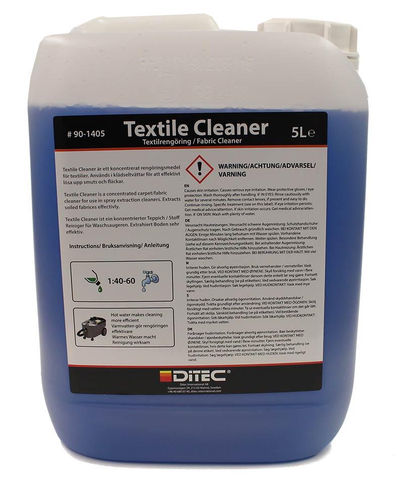Ditec Textile Cleaner 5 Liter.