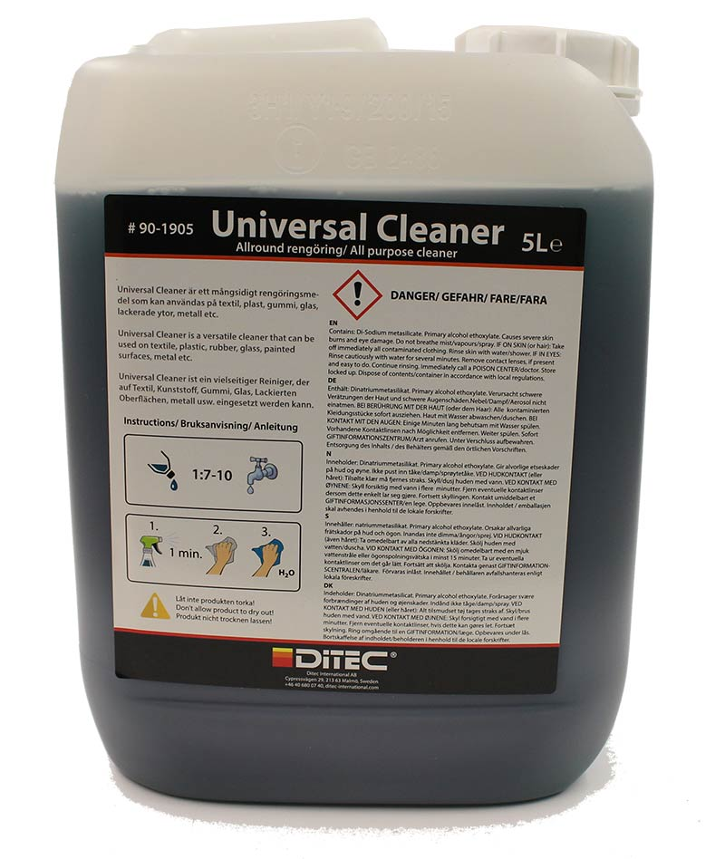 Ditec Universal Cleaner 5 Liter