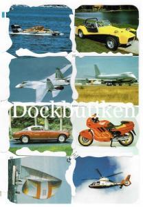 Bokmärken bilar flyg mc
