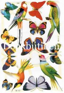 Bokmärken Fjäril papegoja 2