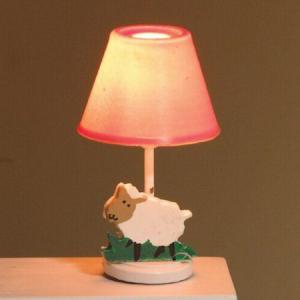 Lampa bordslampa lamm