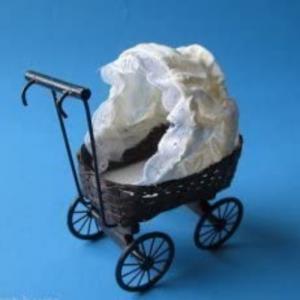 Barnvagn korg