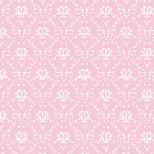 Tapet fransk rosa toile