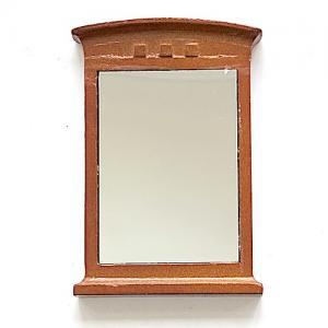 Spegel väggspegel trä