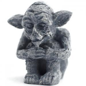 Trädgårdstroll skulptur troll goblin