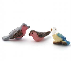 Fåglar i set om 3 st