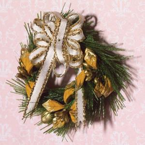 Julkrans krans för dörren entrén