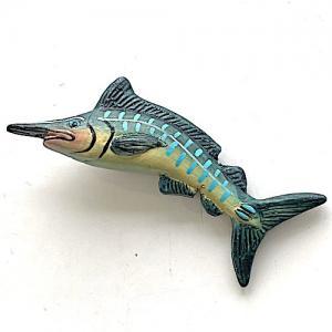 Svärdfisk fisk fiskelycka