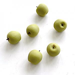 6 st äpplen gröna