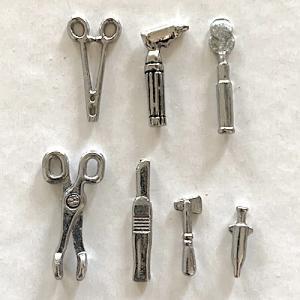 7 st Doktor läkare instrument