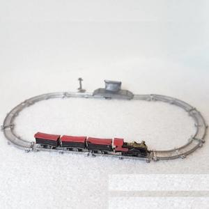 Tågbana miniatyr
