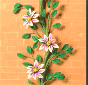 Klängväxt Clematis rosavit