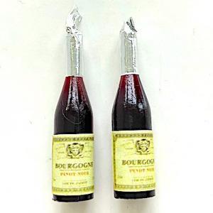 2 flaskor rött vin Bourgogne