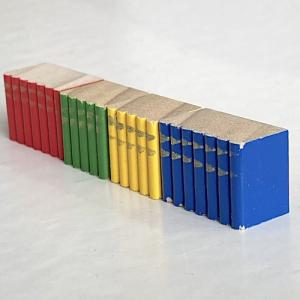 Böcker till bokhyllan (trä)