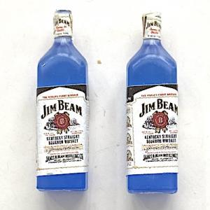 2 st flaskor whiskey Jim Beam