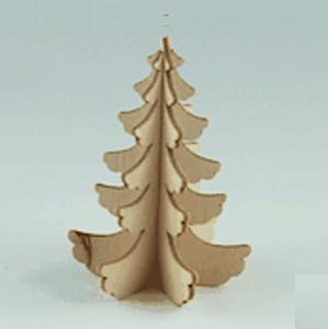 Julgran bordsdekor trä miniatyr