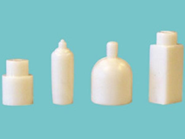 Flaskor för badrum och sovrum vita