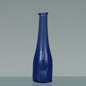 Flaska glasflaska blå 3,5 cm