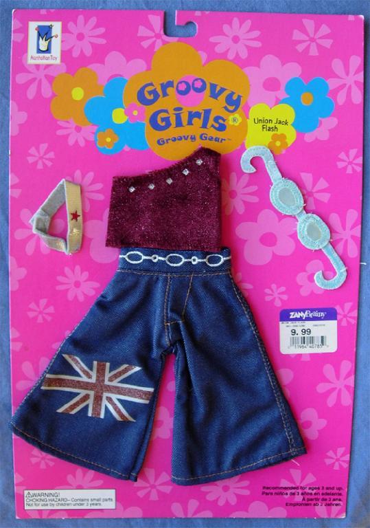 Groovy Girls klädset Union Jack Flash