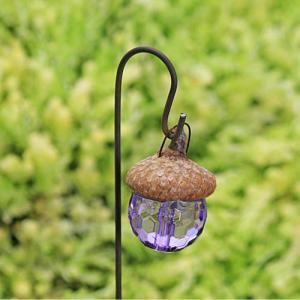 Lanterna lila fairy garden