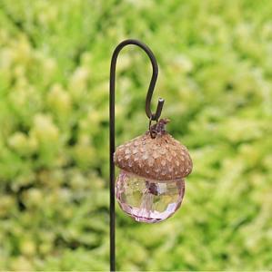 Lanterna rosa fairy garden