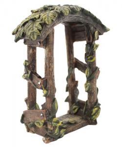 Portal pagoda till miniatyrland