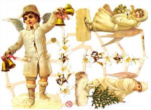 Bokmärken änglar 24 pojke barn