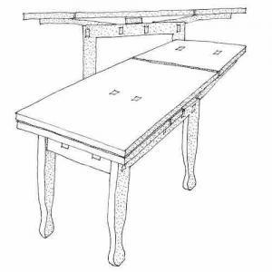Äppelbordet byggsats