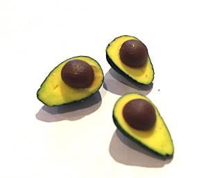 3 st Avocado-halvor