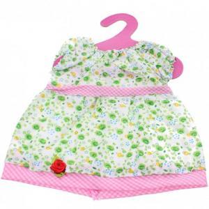 Dockkläder klänning Baby Rose green docka 45 cm