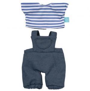 Dockkläder Baby Stella byxor tröja blå