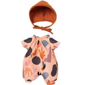 Dockkläder Baby Stella sparkdräkt mössa