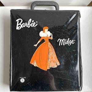 Barbie väska garderob svart