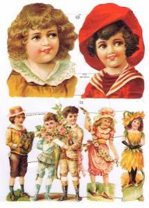 Bokmärken barn retro 19