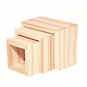 Bord soffbord satsbord obehandlat trä