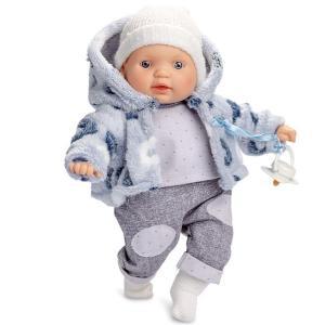 Docka Baby m napp