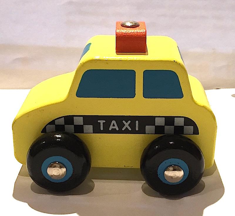 Bil taxi i trä