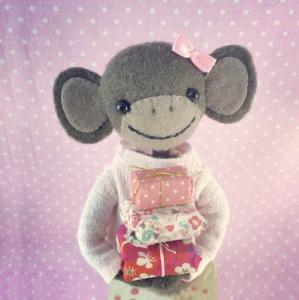 Kort Birthday Monkey födelsedagskort