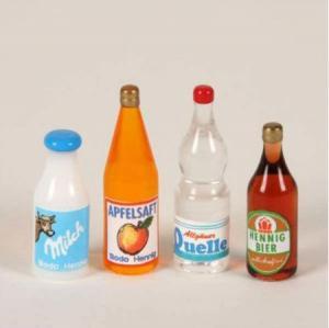 4 st flaskor Bodo Hennig