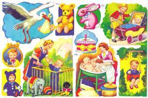Bokmärken Baby 14