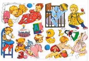 Bokmärken Baby 10