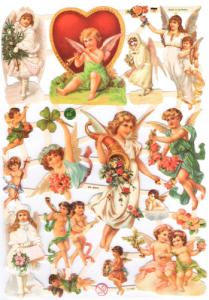 Bokmärken Änglar 134 valentine