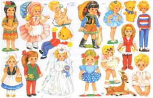 Bokmärken Barn 111 Retro