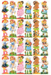 Bokmärken Barn 1607_117 retro