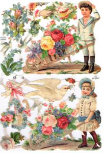 Bokmärken Barn 122 retro