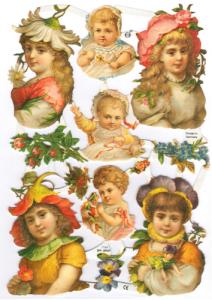 Bokmärken Barn 123 retro