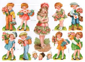 Bokmärken Barn 129 retro