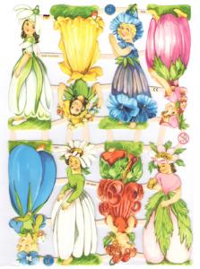 Bokmärken Barn blombarn 108