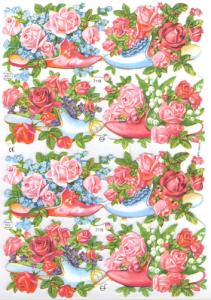 Bokmärken Blommor 152 skor